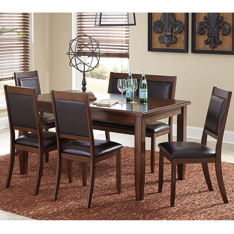 Rent To Own Ashley Lacey 7 Piece Dining Room: Ashley Meredy 5-Piece, Rent To Own Dining Rooms