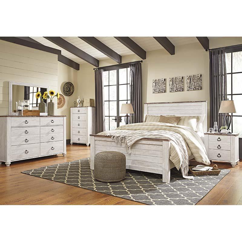 Ashley Zelen 6-Piece, Rent To Own Bedroom Sets
