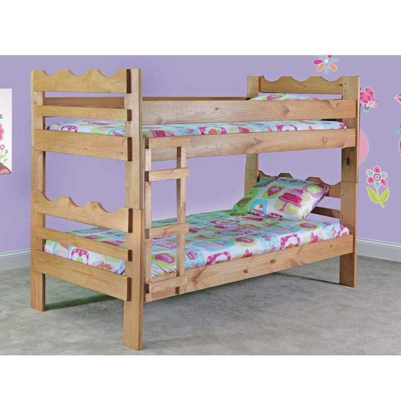 Simply Bunk Beds Scalloped Twin Twin Bunk Rent To Own Kids Bedroom Sets