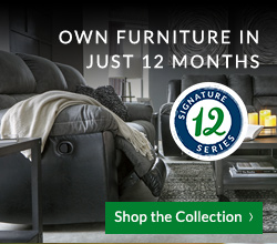 Own Furniture in as little as 12 months